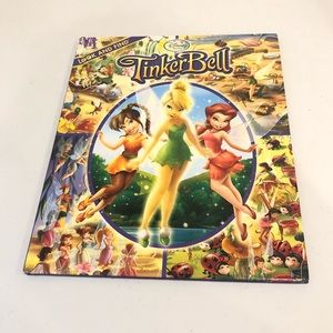 Disney Tinkerbell Look And Find Book